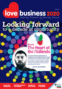 Advertise in the 2021 Magazine for Love Business EXPO